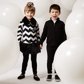 Black & White: Kids' Apparel & Accents