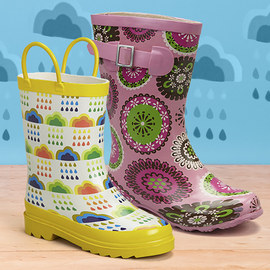 Puddle Power: Kids' Rain Boots