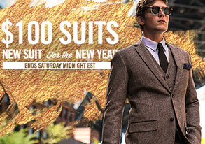 Shop $100 Suits: New Suit, New Year