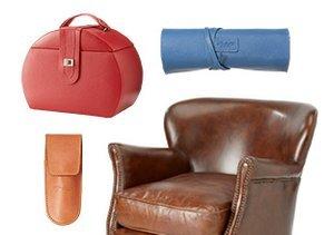 Leather Love: Furniture & Accessories