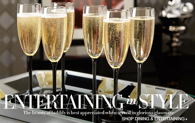 Shop Entertaining In Style: Stemware