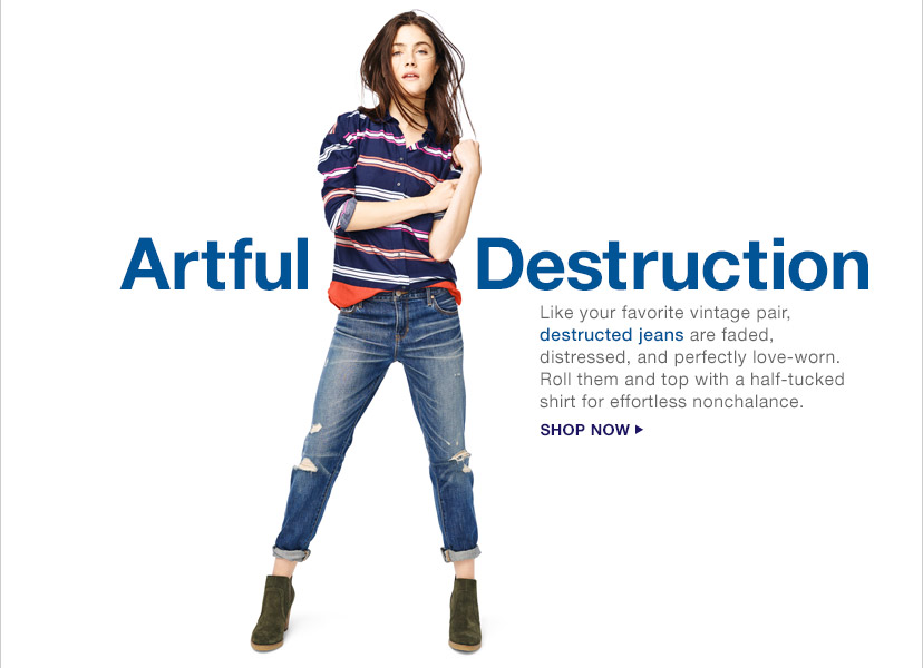Artful Destruction | SHOP NOW