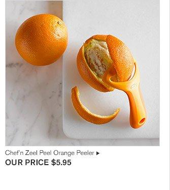 Chef'n Zeel Peel Orange Peeler - OUR PRICE $5.95