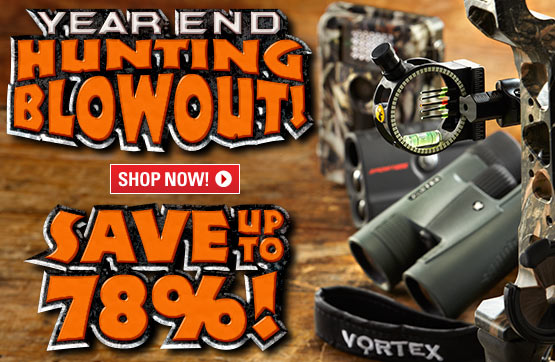 Sportsman's Guide's Year-end Hunting Blowout! Save Up To 78%!
