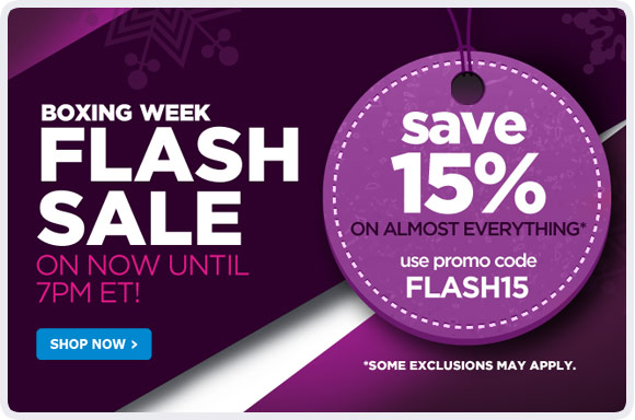 Boxing Week Flash Sale - Shop Now