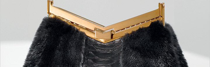 Consider this your perfect party package: J. Mendel clutches and more.