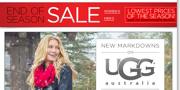 Find new markdowns on UGG® Australia and enjoy FREE Shipping on ALL UGG® Australia boots! Plus, save on great styles from Dansko, ABEO, ECCO and more during our End of Season Sale! Shop now for the best selection online and in stores at The Walking Company.