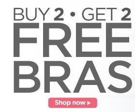 Buy 2, Get 2 Free Bras
