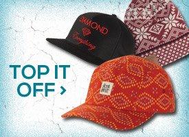 Top It Off: Hats & Beanies