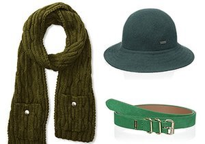 Pop of Color: Green Accessories