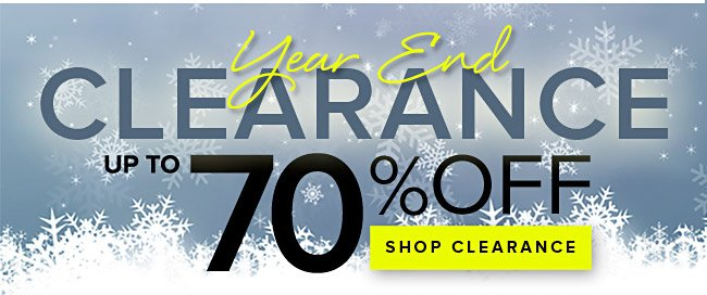 Year End Clearance Sale at HerRoom