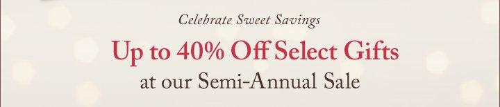 Celebrate Sweet Savings
