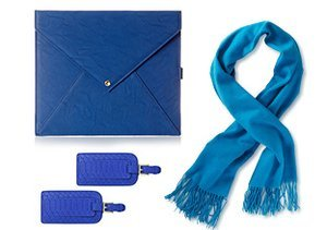 Pop of Color: Blue Accessories