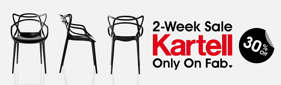 30% Off 2-Week Sale Kartell - Only at Fab