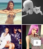 The Best Celebrity Instagram Photos of 2013