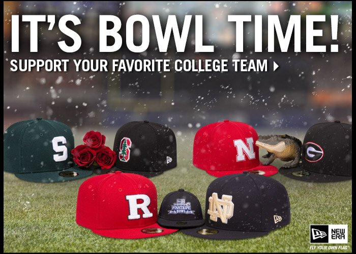It's Bowl Time! Support Your Favorite College Team - Shop Now!