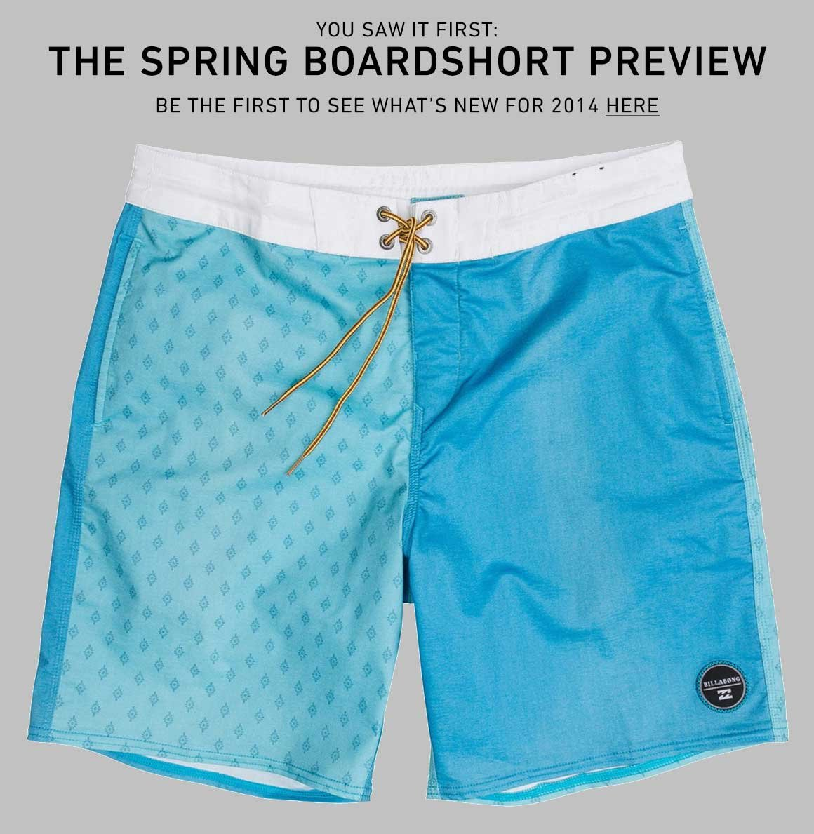 Men's Boardshort Preview