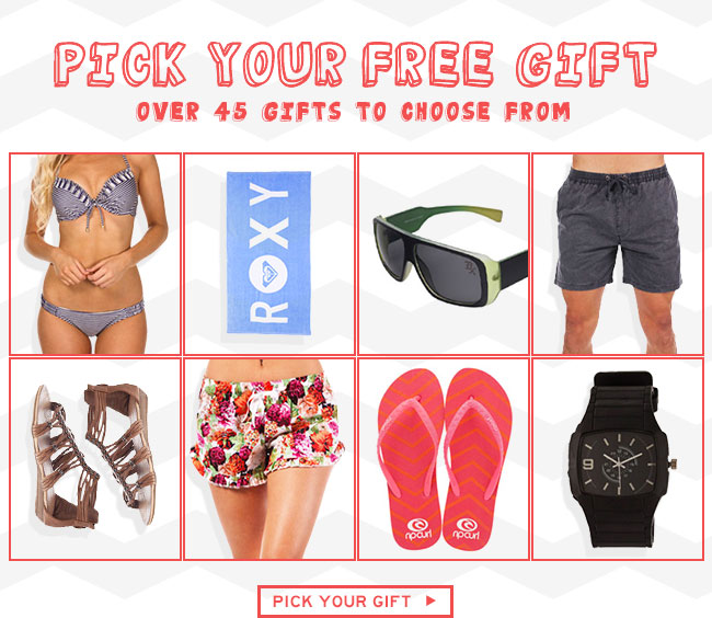 Shop Free Gift