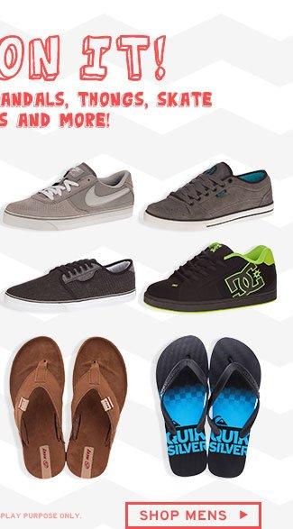 Shop Mens Footwear Sale