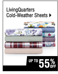 Up to 55% off LivingQuarters Cold-Weather Sheets