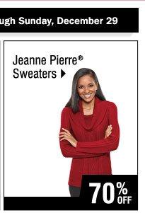 70% off  Jeanne Pierre Sweaters