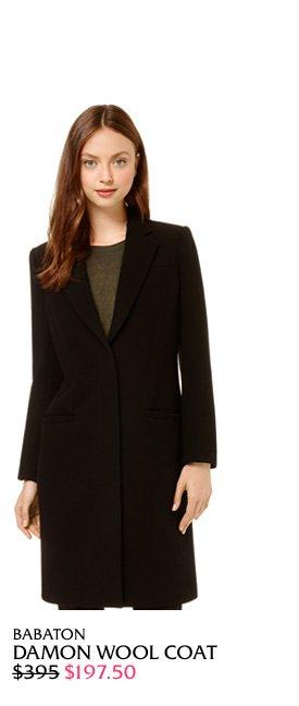 Damon Wool Coat