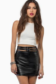 Rosalyn Cutout Skirt