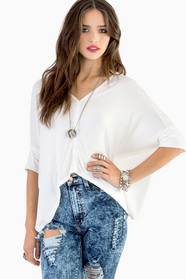 Karina Button Top