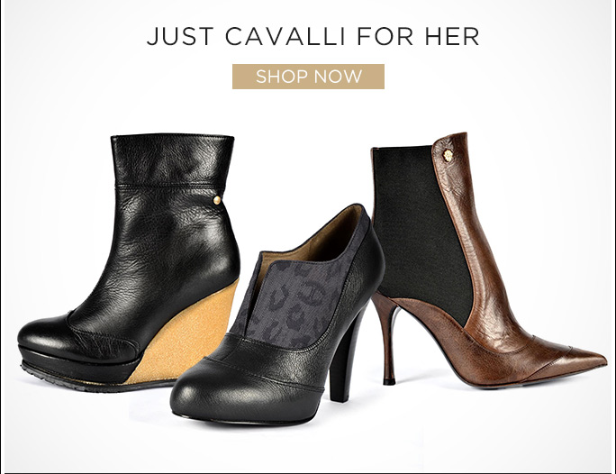 Just Cavalli for Her. Shop Now