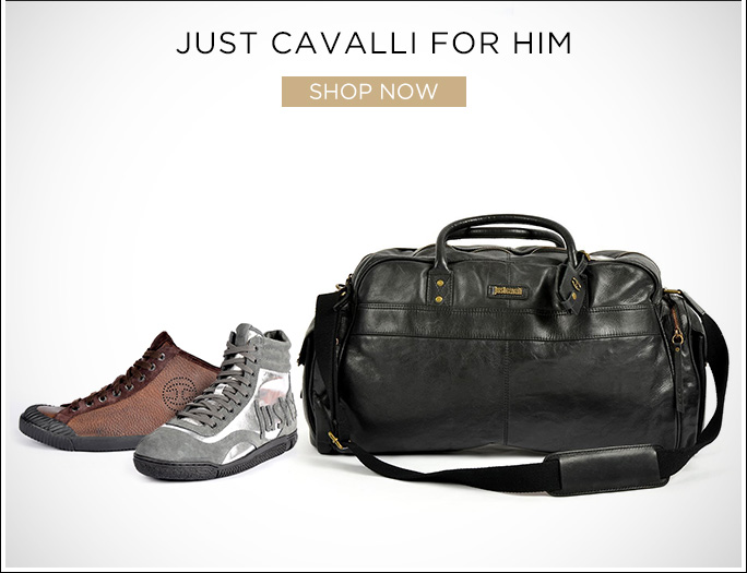 Just Cavalli for Him. Shop Now