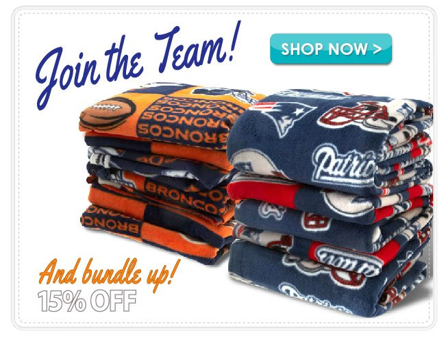"15% Off ""The Team Shop"