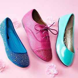 Fresh Footprints: Girls' Flats