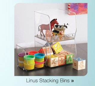 Linus  Stacking Bins »