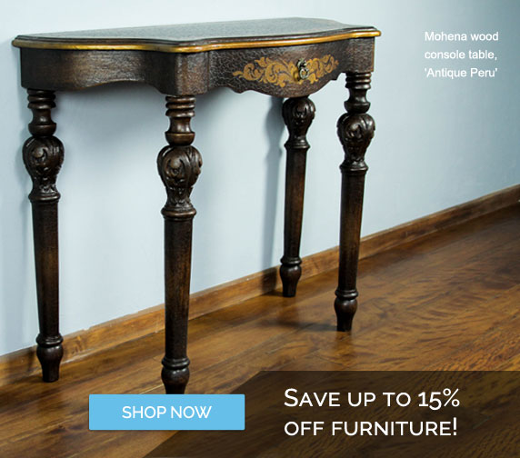 Save Up To 15% OFF Furniture - Shop Now