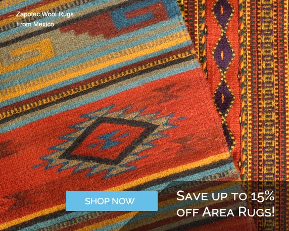 Save Up To 15% OFF Area Rugs - Shop Now