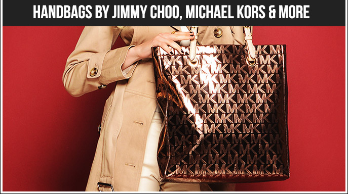Handbags by Jimmy Choo, Michael Kors & More