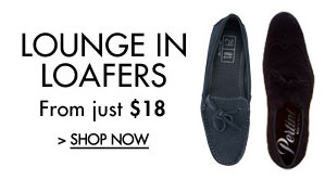 Lounge in Loafers