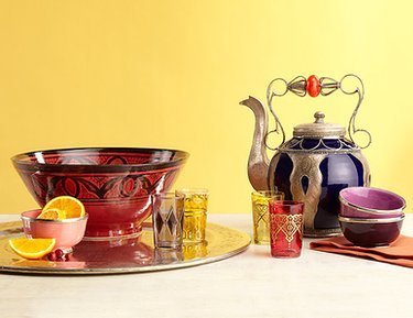 Found Objects: Moroccan Table