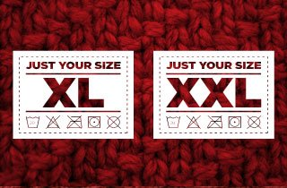 Just Your Size: X Large and XX Large