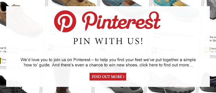 Pinterest - Pin with us!