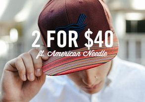 Shop 2 for $40: Team Hats