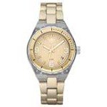 Adidas ADH2537 Women's Aluminum Cambridge Transparent Nylon Gold Tone Bracelet Watch