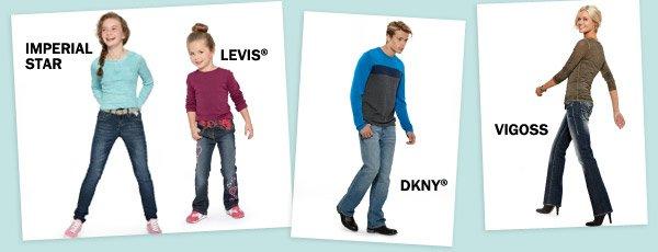 IMPERIAL STAR, LEVIS®, DKNY®, VIGOSS