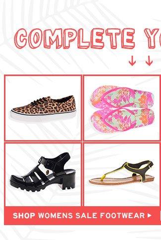 Shop Womens Sale Footwear