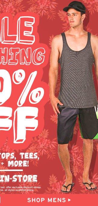 Shop Mens Sale Clothing