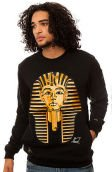 The Golden Boy Crewneck in Black
