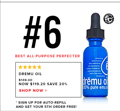 #6 Best Eye Cream:  Dremu OilWas $149 Now $119.20 Save 20%!Shop Now >>
