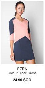 EZRA Colour Block Dress