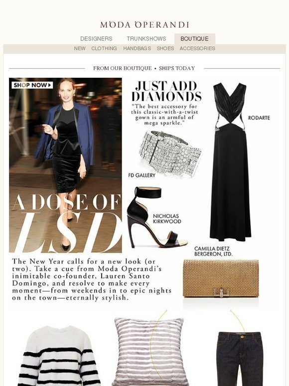 Moda Operandi A Dose Of Lsd New Year New Look Milled