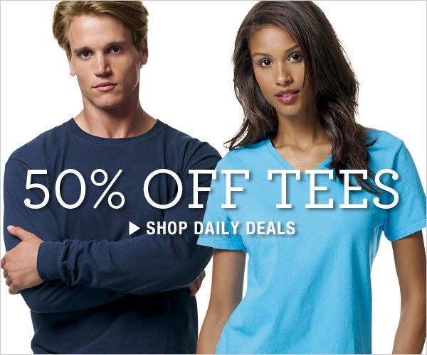 Daily Deals: 50% off Tees